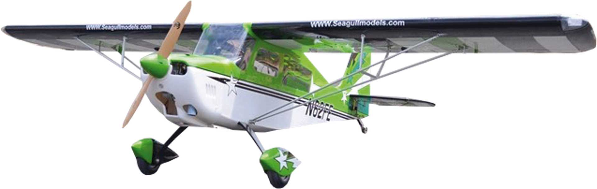 SG-MODELS DECATHLON 60-85CC 3D ARF GRÜN 3,1M