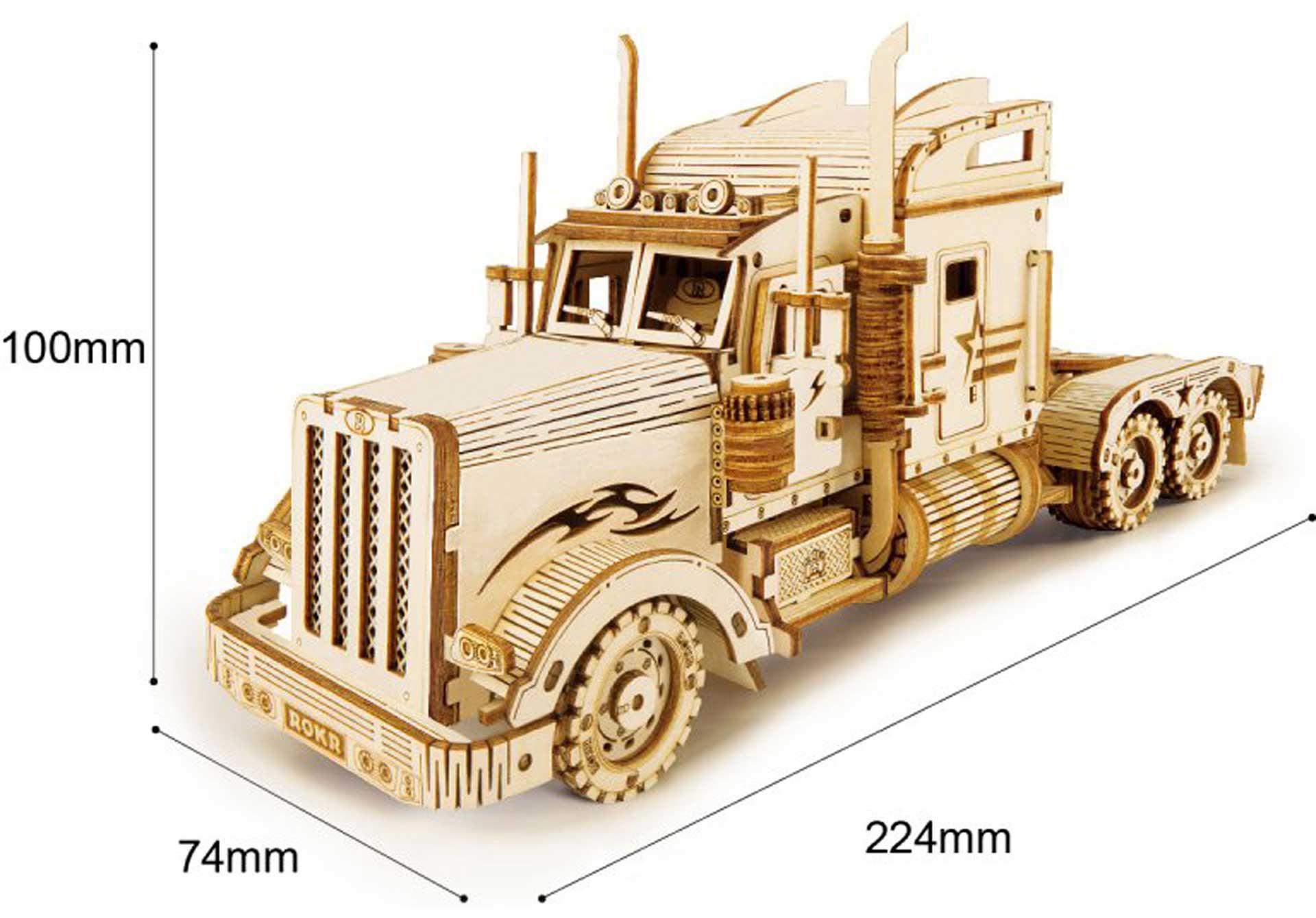 PICHLER Heavy Truck (Lasercut Holzbausatz)