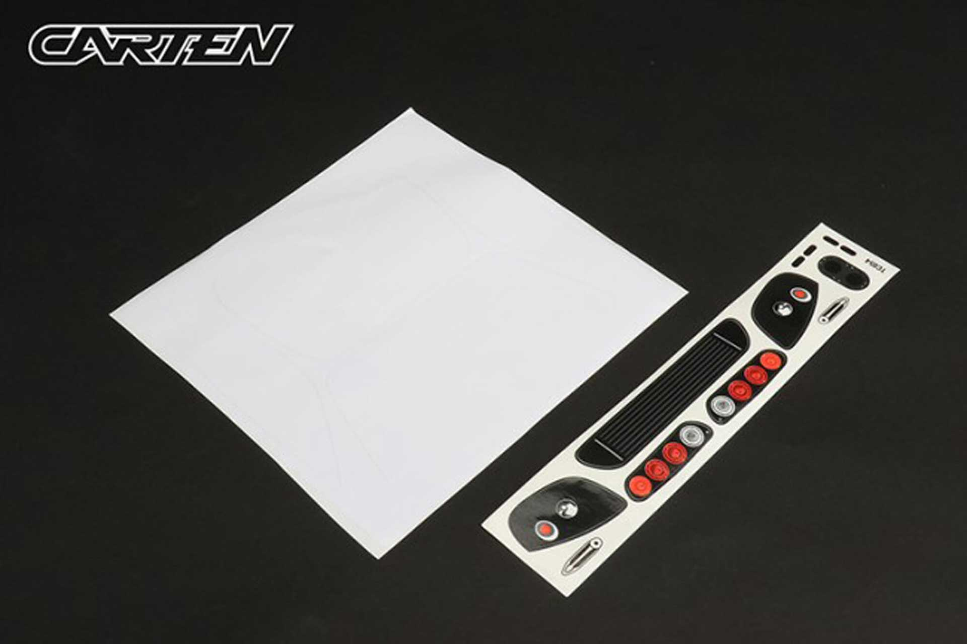 CARTEN SUPRA TC Body 1/10 (190mm) unpainted