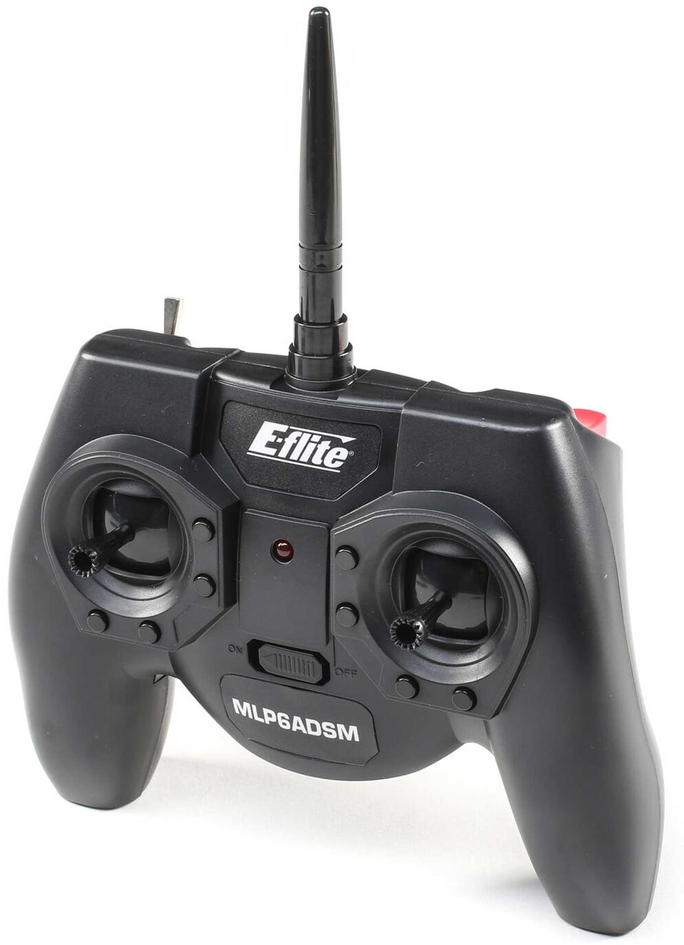 E-Flite MLP6ADSM Transmitter