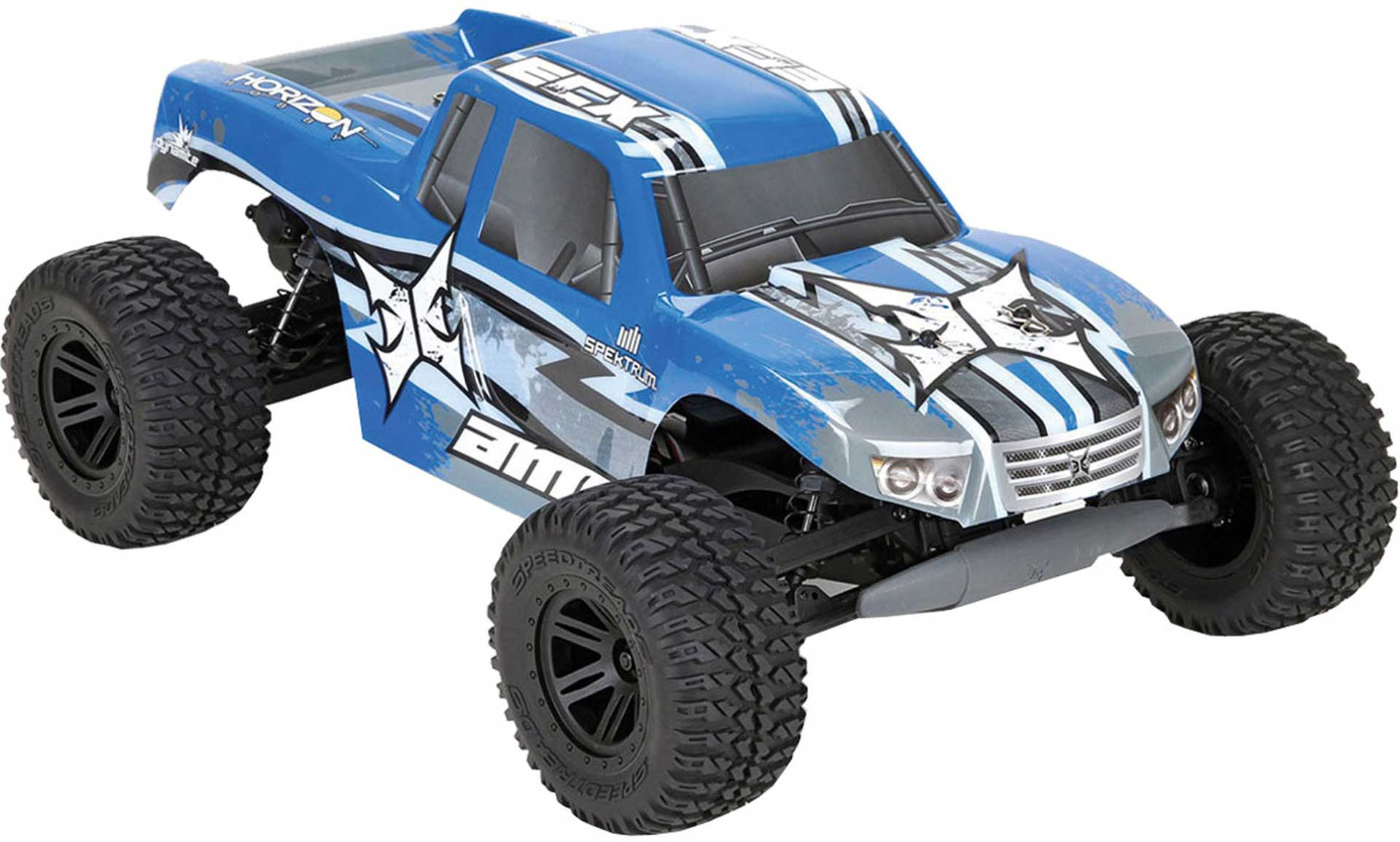 ECX AMP MT 2WD MONSTER TRUCK 1/10 BUILD-TO-DRIVE KIT