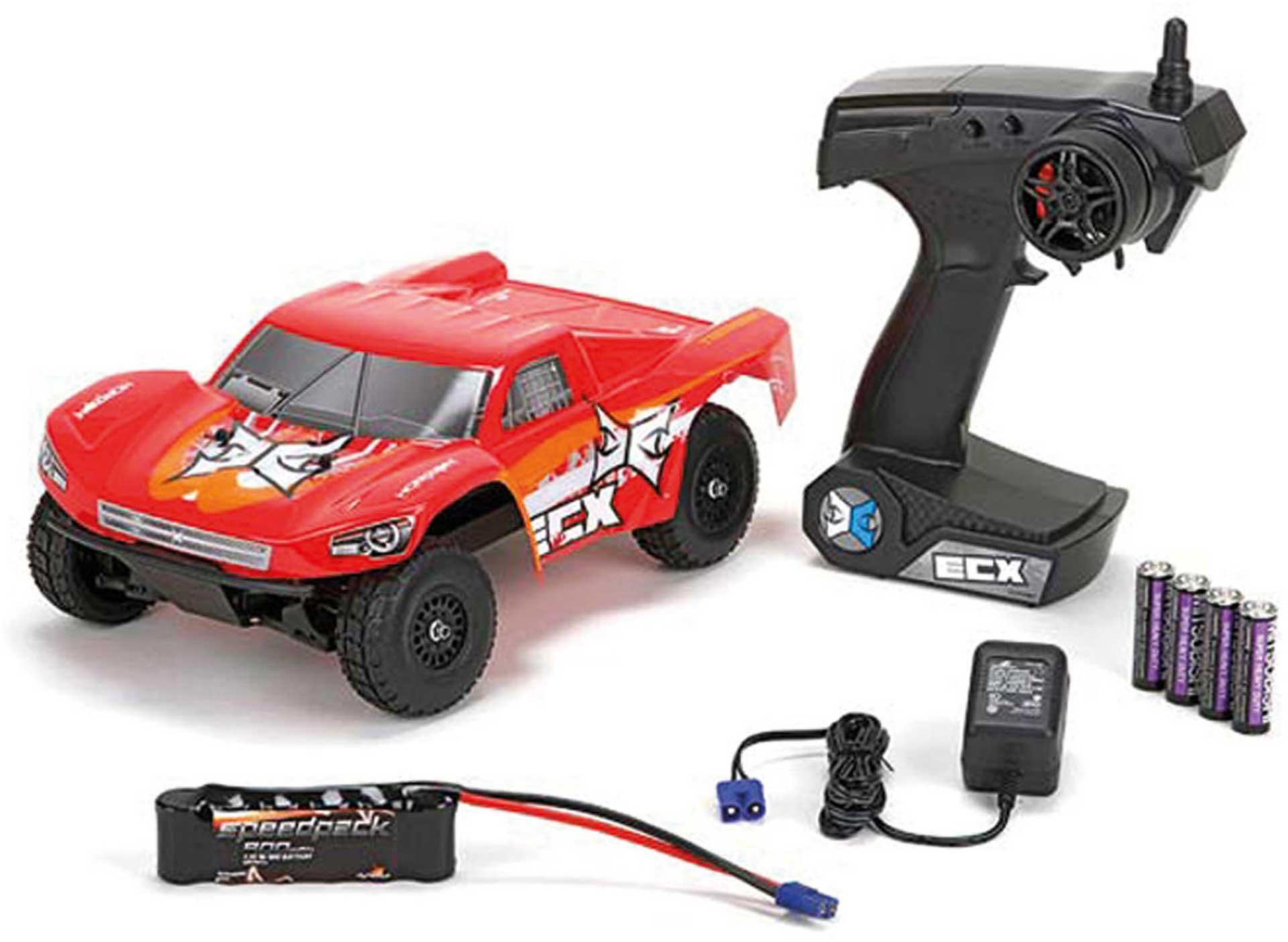 ECX TORMENT 1/18 4WD SHORT COURSE TRUCK ROT ORANGE RTR