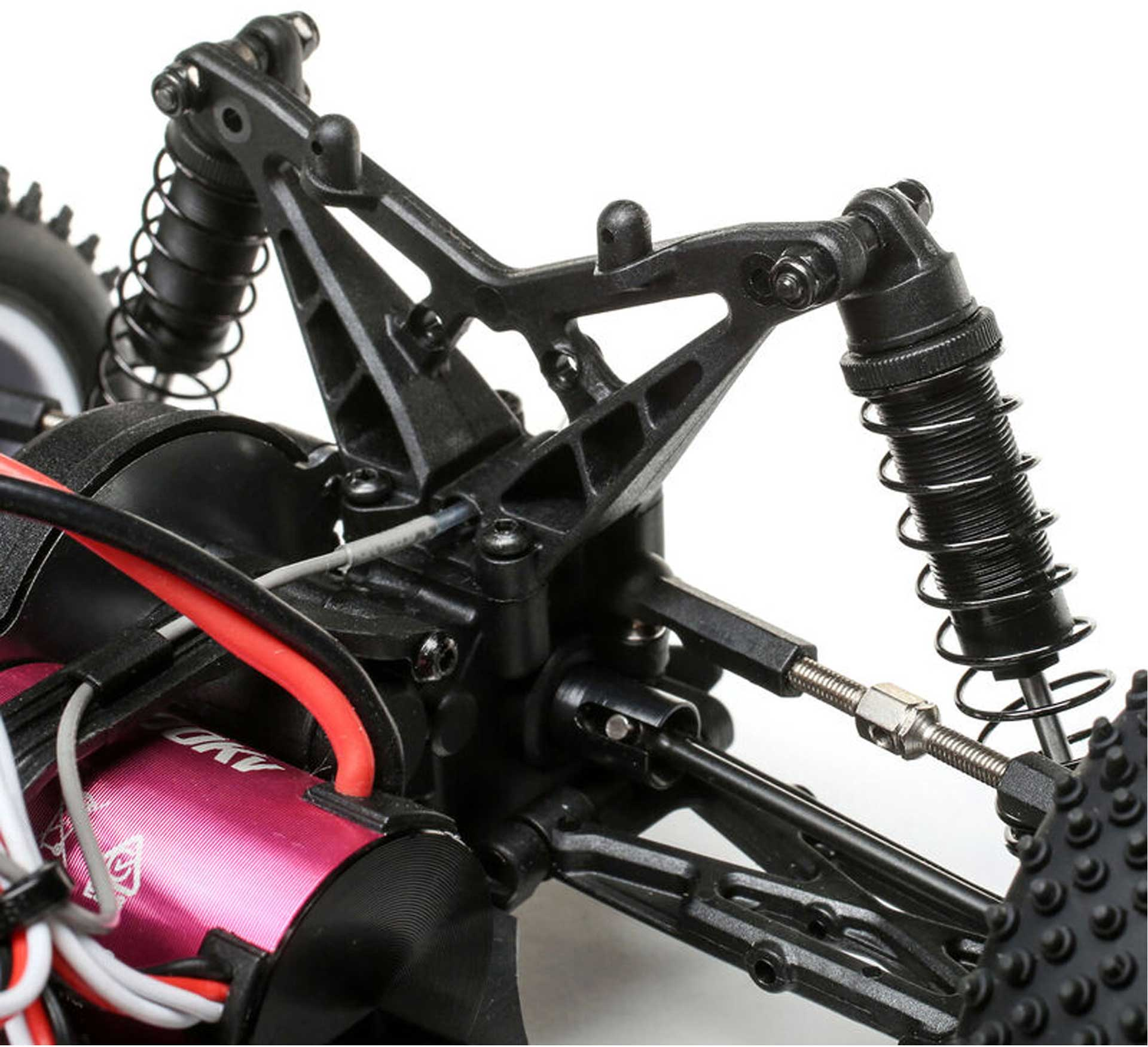 LOSI Mini-T 2.0 1/18 2WD RTR Brushless Rot/Weiß
