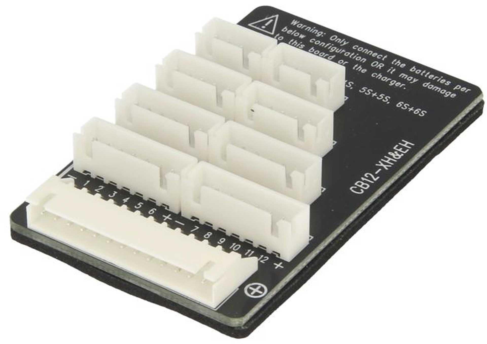JUN-SI CB12-XH Adapterplatte 12S - XHR Stecksystem