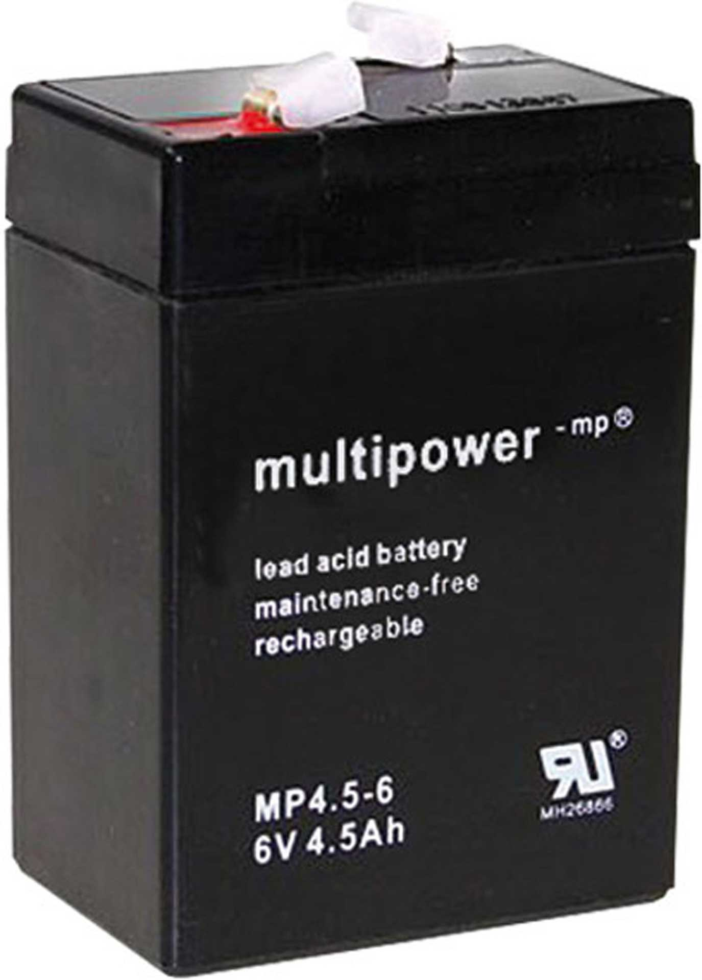 MULTIPOWER LEAD BATTERY 4,5MAH 6V MP