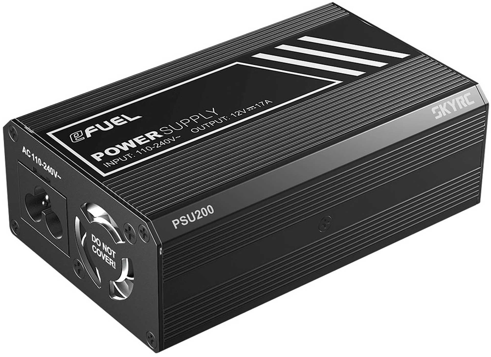 SKYRC POWER SUPPLY 200W PSU 12 VOLT 17 AMP 110-240V XT60 OUTPUT
