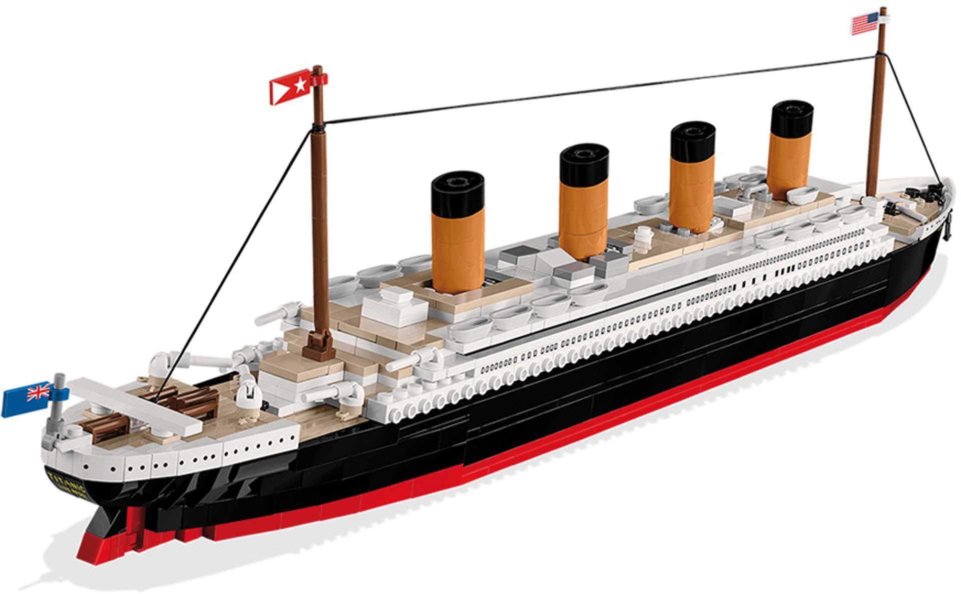 COBI R.M.S. Titanic (722 Teile) Klemmbausteine