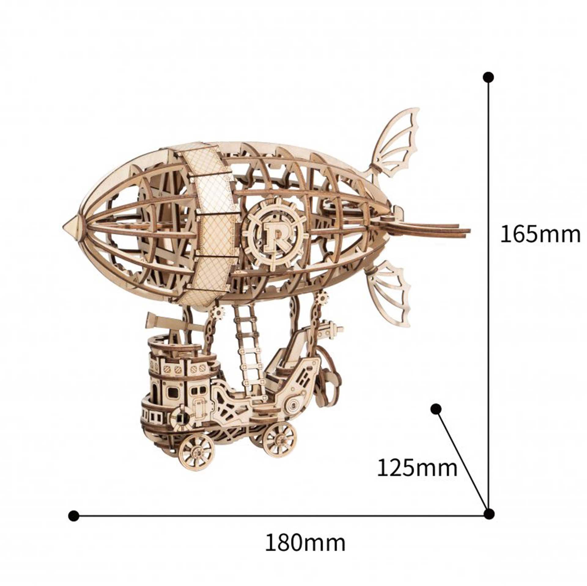 PICHLER Luftschiff (Lasercut Holzbausatz)