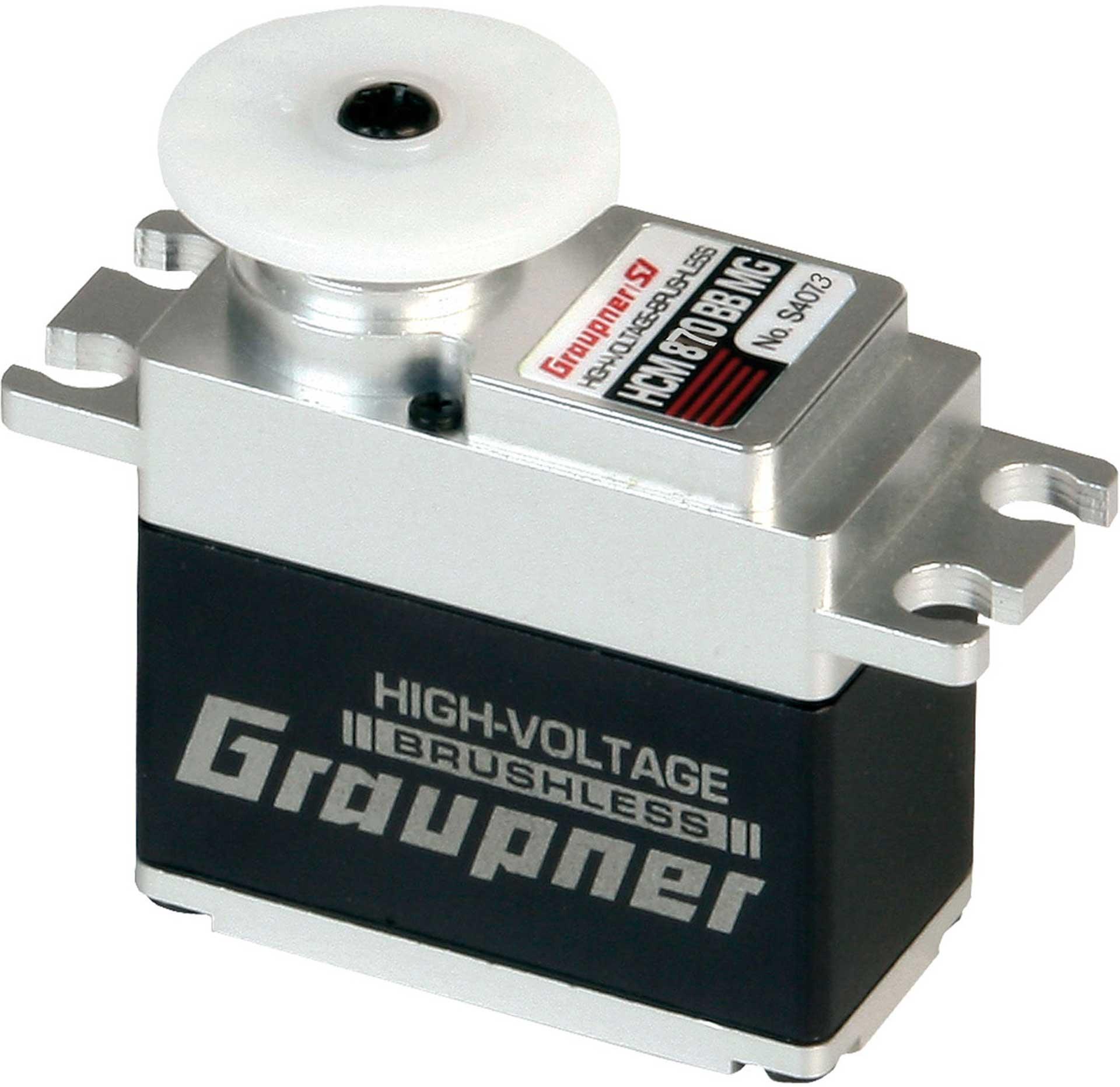 GRAUPNER HCM 870 BB MG DIGI HV CORELESS SPEED WITH 20MM WIDTH