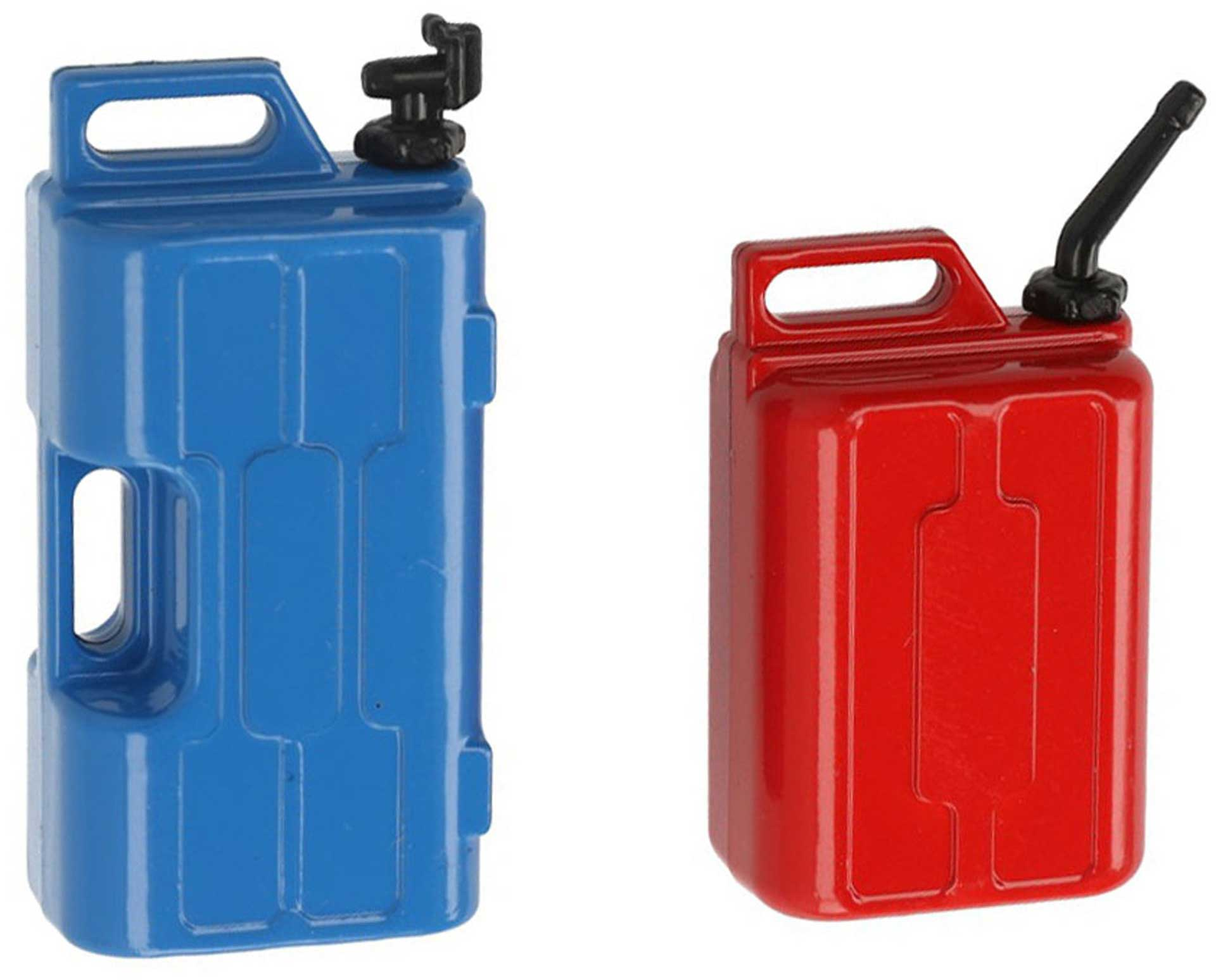 ROBITRONIC Petrol canister and water canister Decoration set blue/red