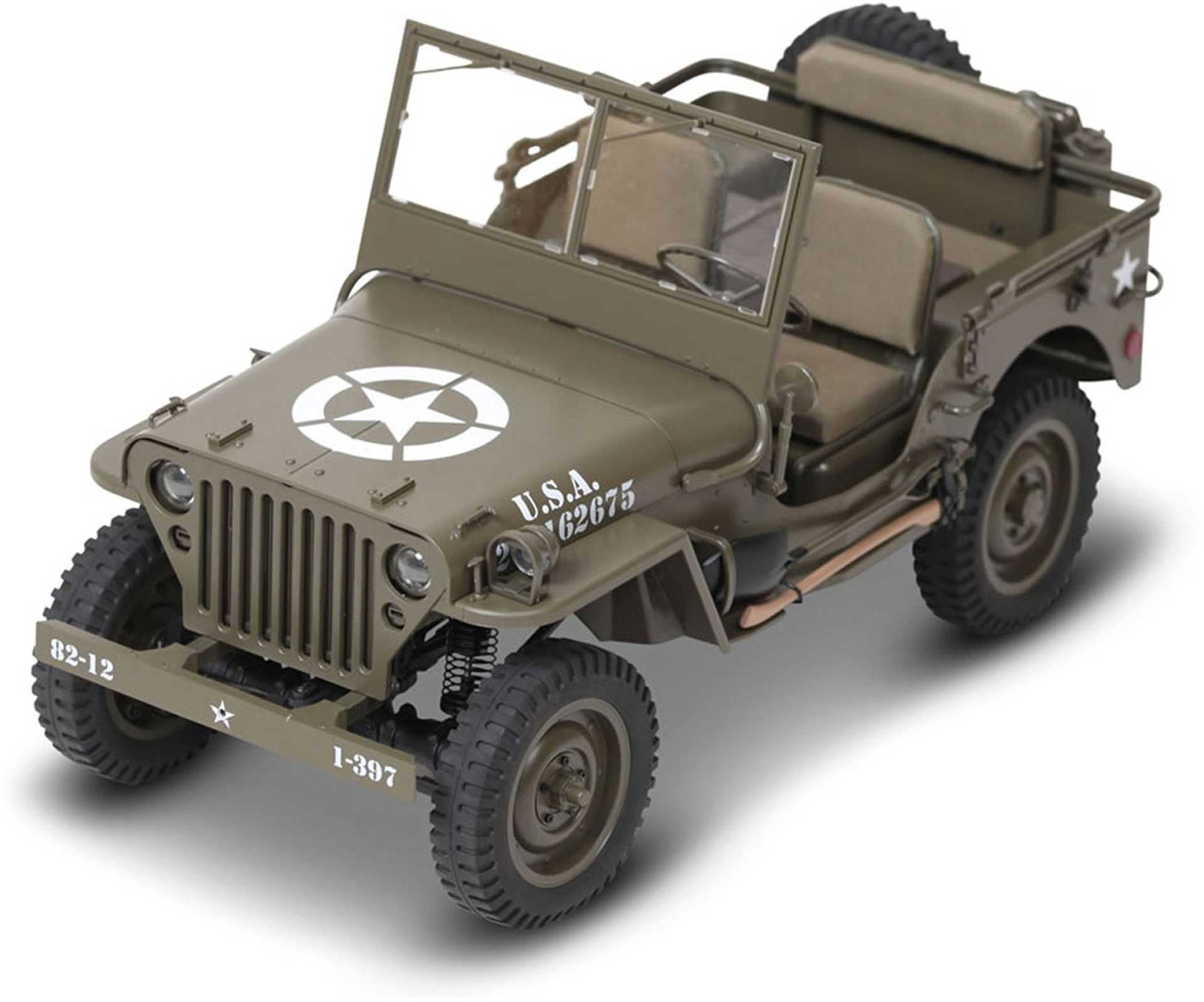 ROC HOBBY 1941 MB Scaler 1:10 4WD Crawler RTR 2,4GHz, with lighting