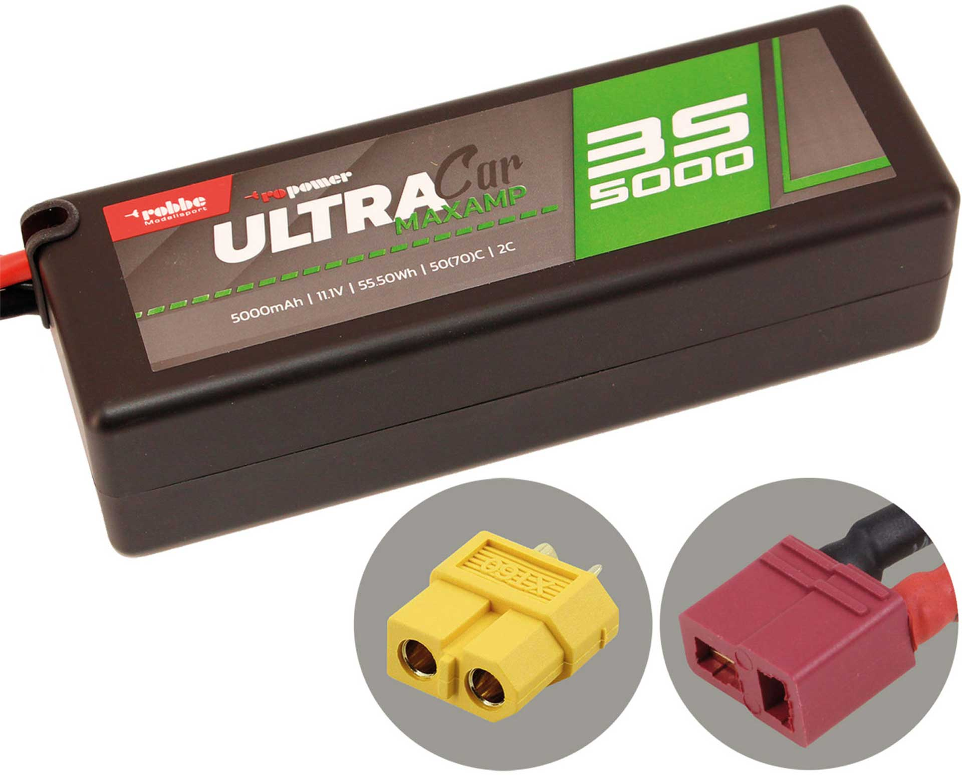 ROBBE RO-POWER ULTRA MAXAMP CAR 5000MAH 11,1