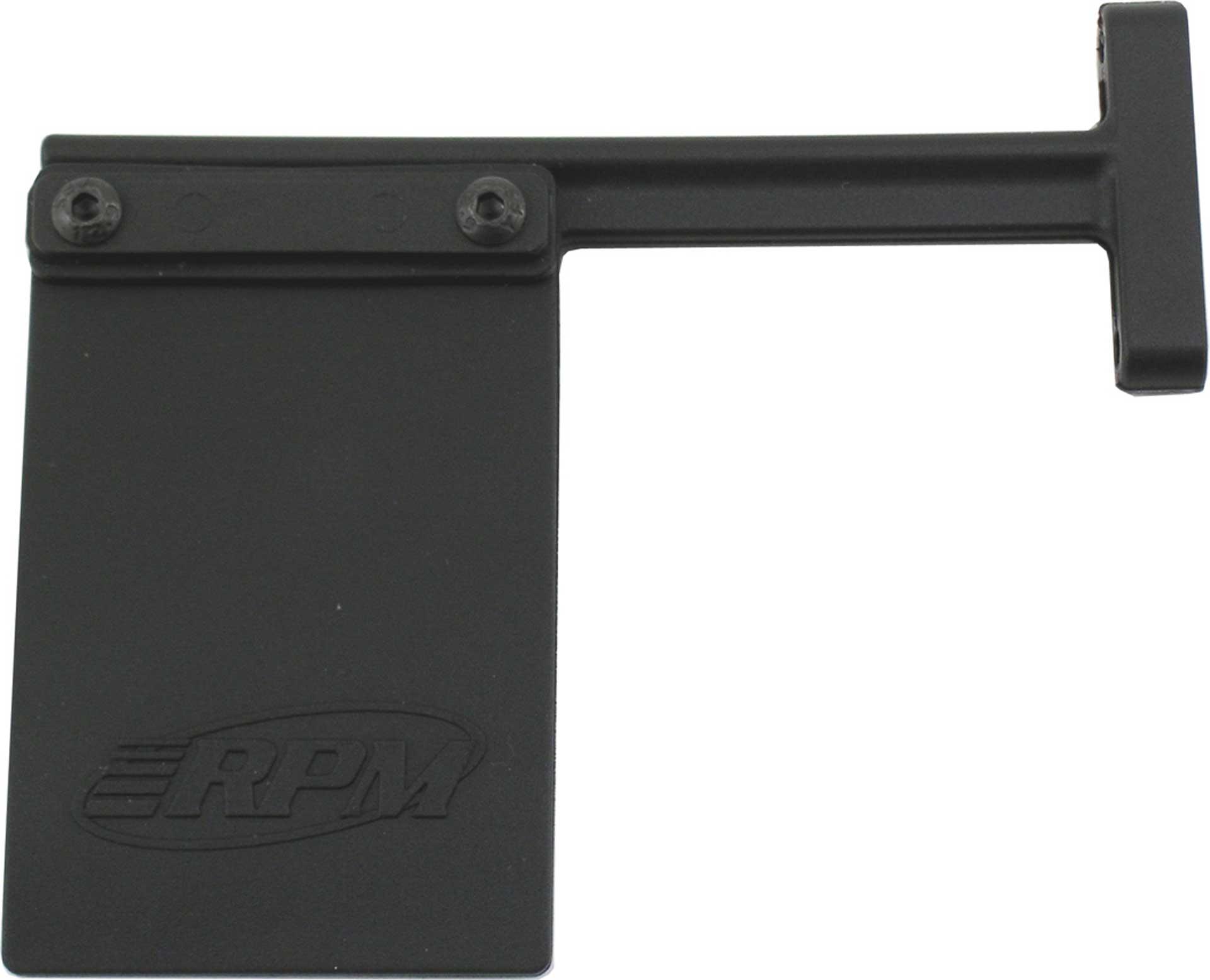 RPM SCHMUTZFÄNGER FÜR SLASH BUMPER (NUR IN VER BINDUNG MIT RPM80122/RPM80125/RPM80123)