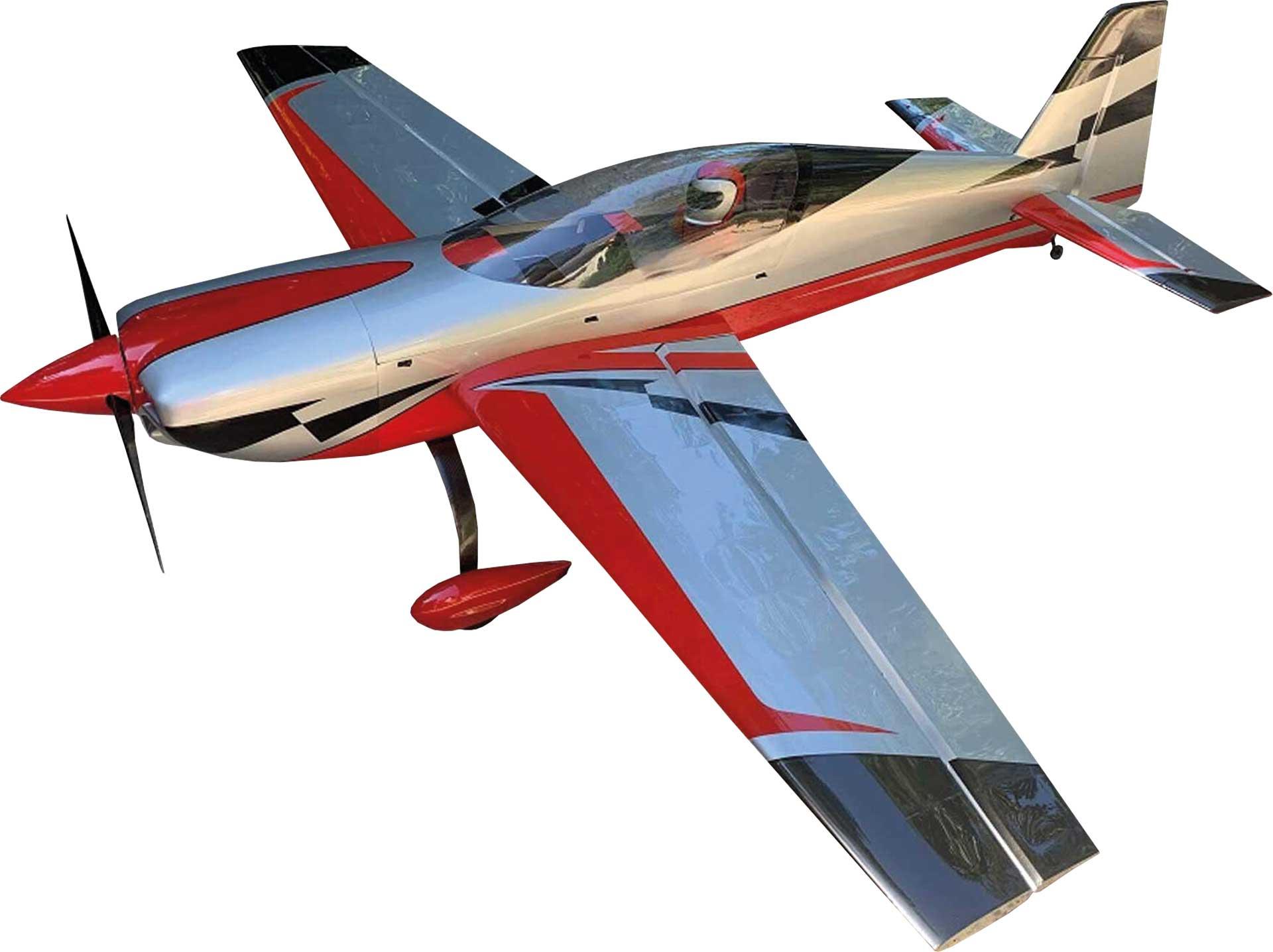 "EXTREMEFLIGHT-RC EXTRA NG 104"" Rot/Silber ARF"