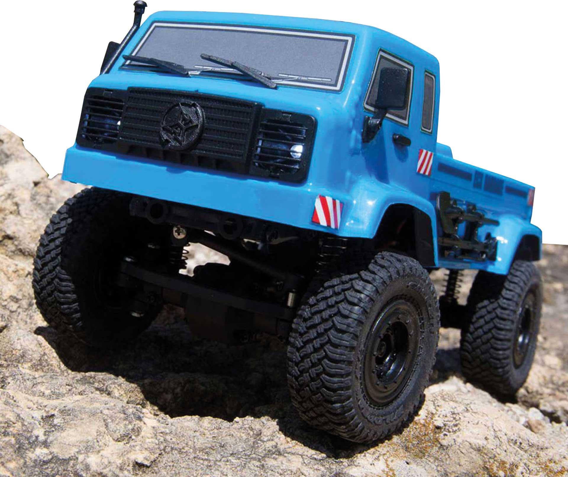 ECX BARRAGE UV 4WD SCALER CRAWLER RTR BLAU 1/24