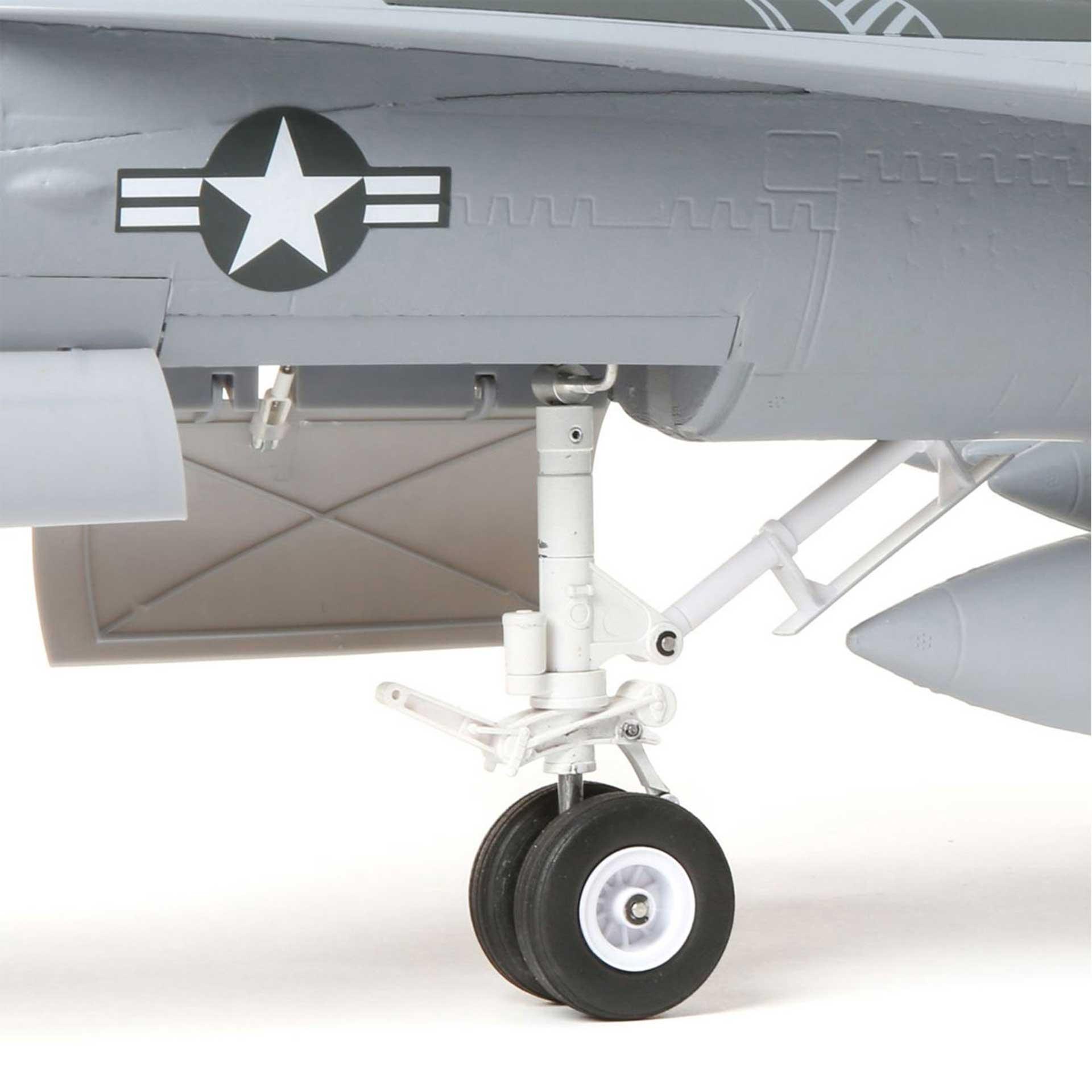 E-Flite F-18 80MM EDF BNF BASIC AS3X UND SAFE SELECT E-IMPELLER JET