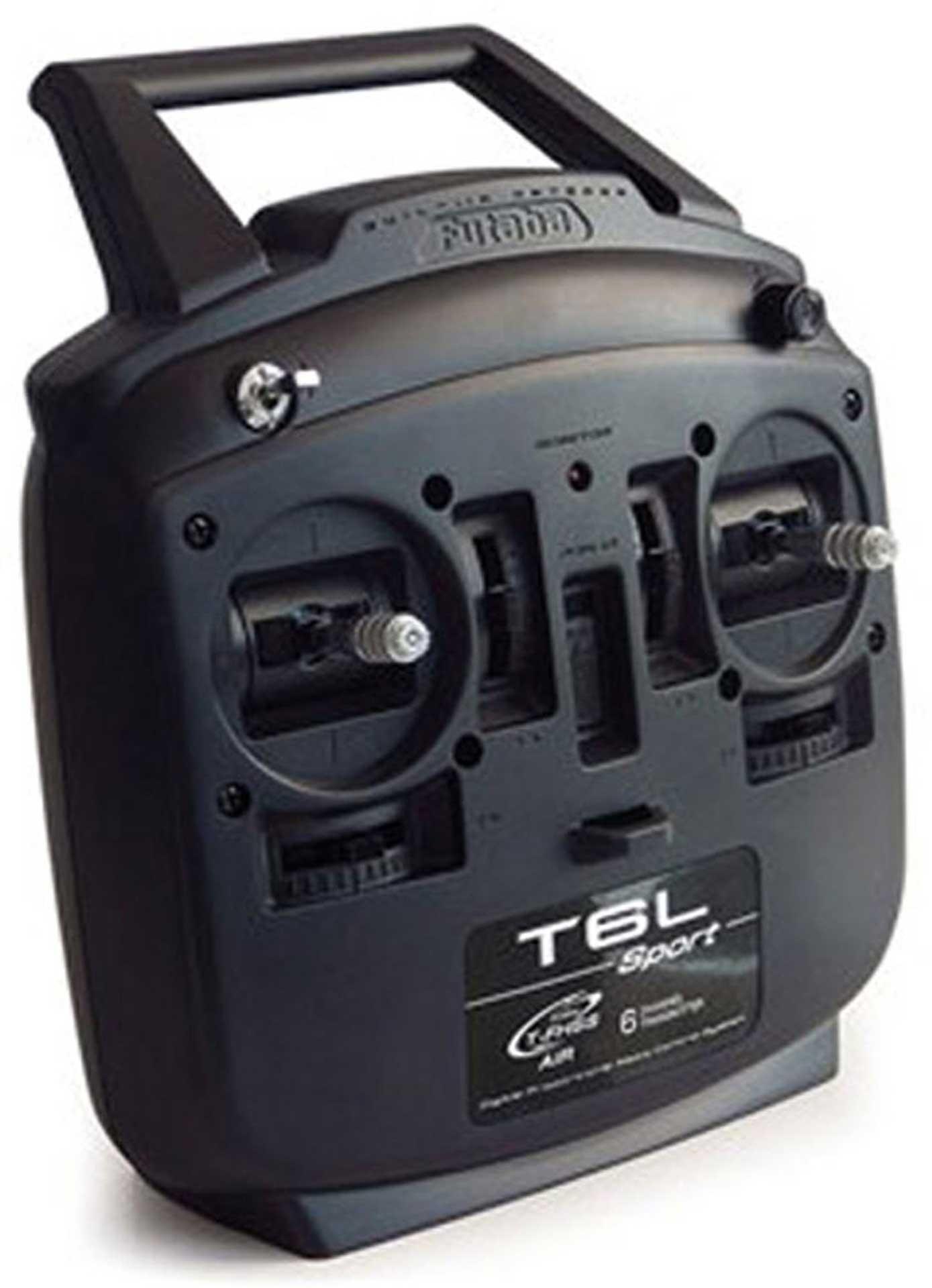 FUTABA T6L SPORT T-FHSS MIT R3106GF MODE 1 2,4Ghz FERNSTEUERUNG