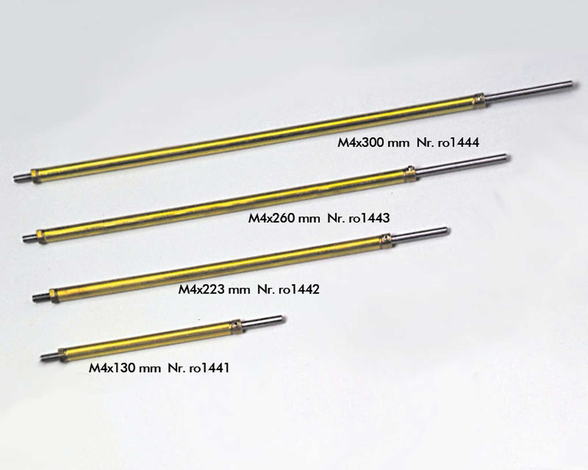 ROMARIN Sterntube 175 + shaft M4x223mm