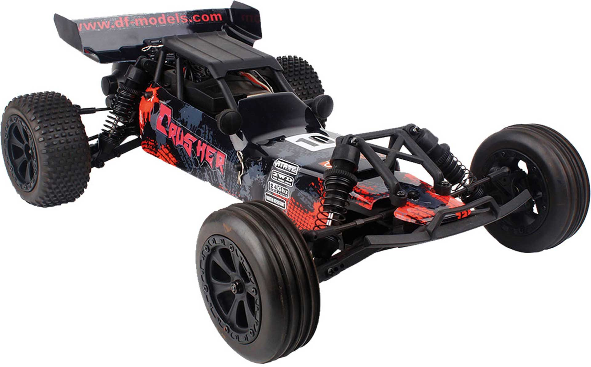 DRIVE & FLY MODELS CRUSHER RACE BUGGY RTR 1/10 2WD EP