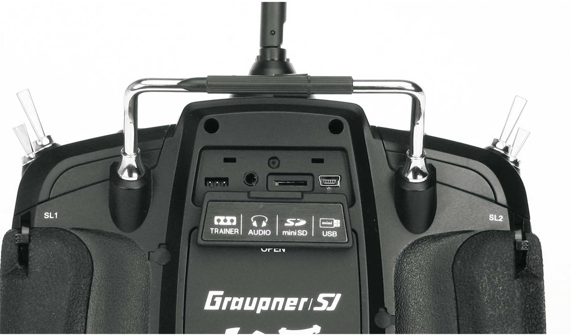 GRAUPNER MZ-18 SINGLE TRANSMITTER  HOTT