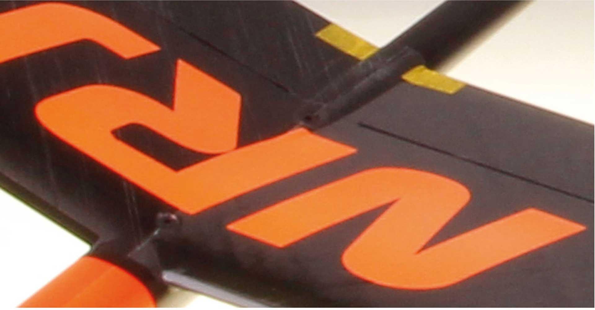 OA-COMPOSITES NRJ F3K ORANGE # 18 CW40 + 4PCS. KST X08 SERVOS