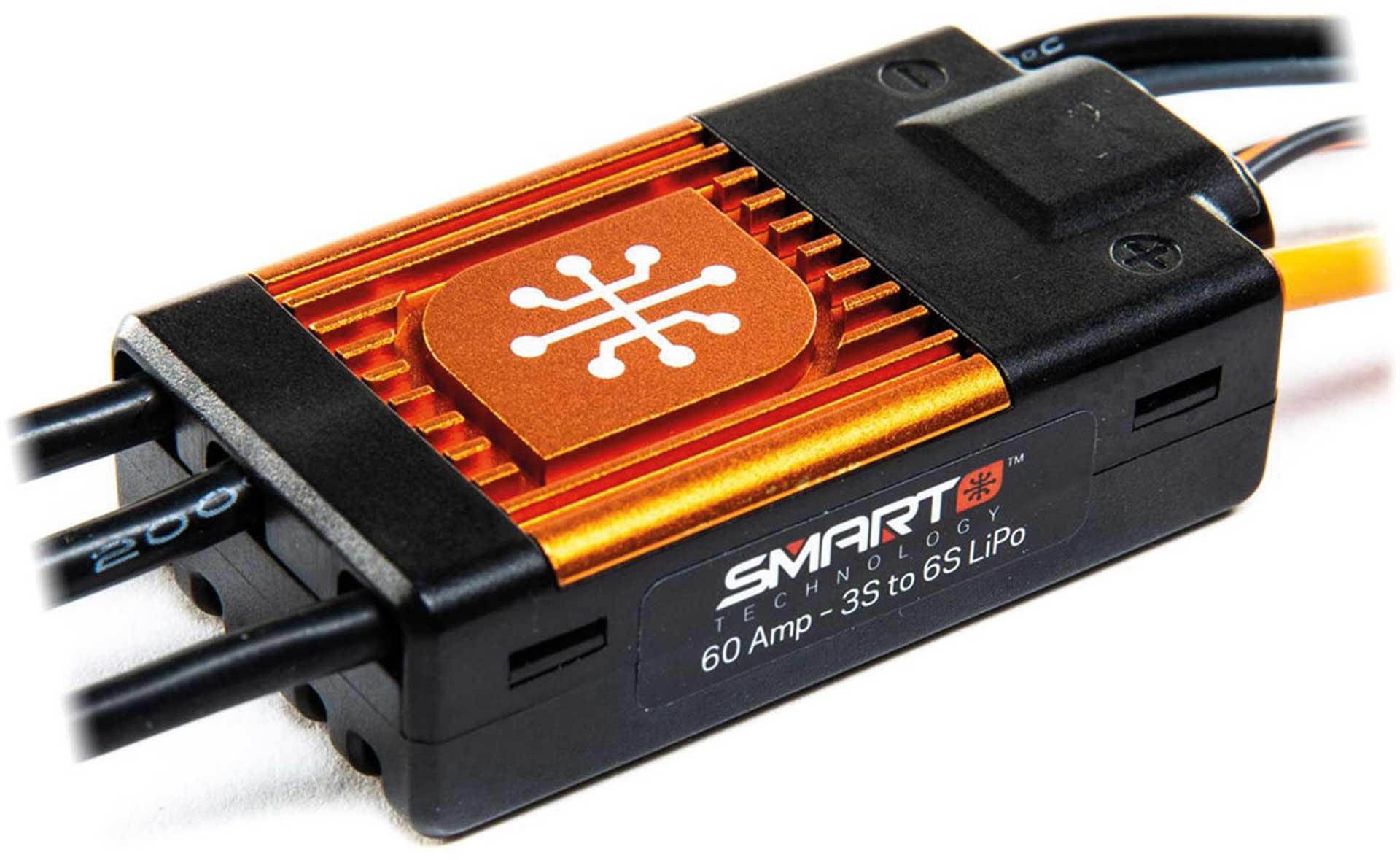 SPEKTRUM AVIAN 60 AMP BRUSHLESS SMART ESC 3S-6S