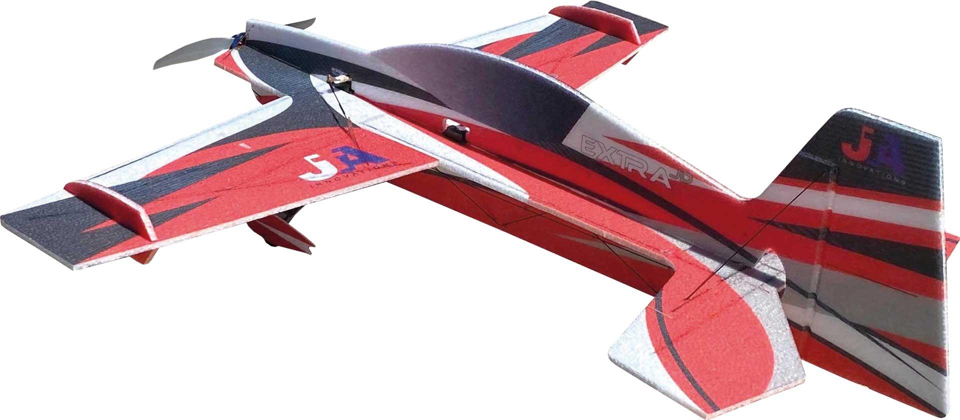 """JTA Innovations Extra JD rot/schwarz/weiss 32"""" EPP 3D-Kunstflug Modell"""