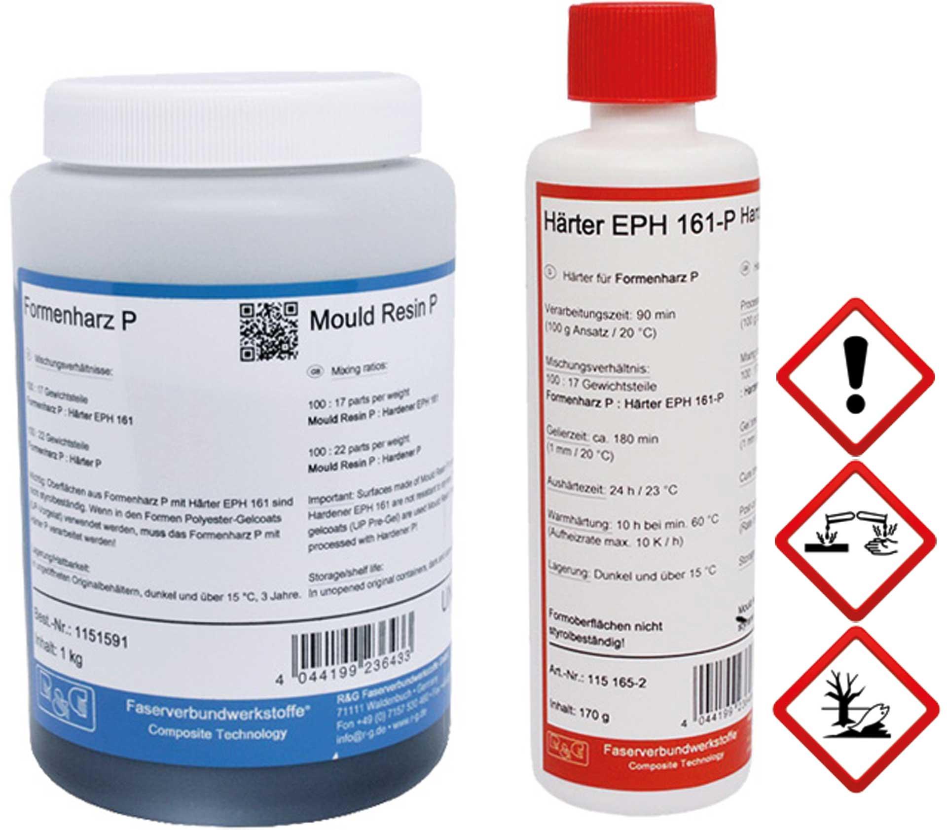 R&G Formenharz P + Härter (EPH 161-P) Packung/ 585 g