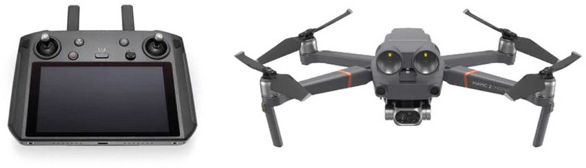 DJI MAVIC 2 ENTERPRISE THERMAL ED. MIT SMART FERNSTEUERUNG FLIR UNIVERSIAL EDITION IDEAL FÜR REHKITZ SUCHE